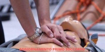 CORSO AGGIORNAMENTO PRIMO SOCCORSO 4 ORE  PER AZIENDE DEL GRUPPO B) E C)